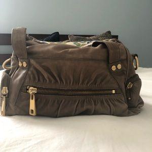 Brown leather Steve Madden bag